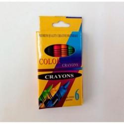 SET DE CRAYONES X 6 COLOR...