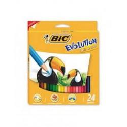 LAPIZ BIC EVOLUTION COLOR X...
