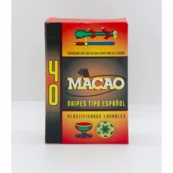 NAIPES MACAO X40 ART...