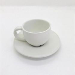 TAZA CAFE CON PLATO 100CC...