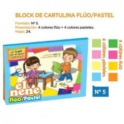 BLOCK EL NENE FLUO/PASTEL...