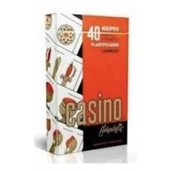 NAIPE CASINO X 40 PLAST ART...